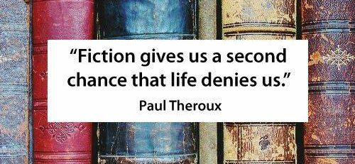 theroux quote - the art of lifelines